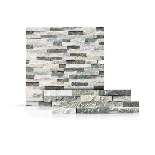 Sierra Blue Thin Stone Veneer Flat 6 X 24 Thickness 3 8 5 8